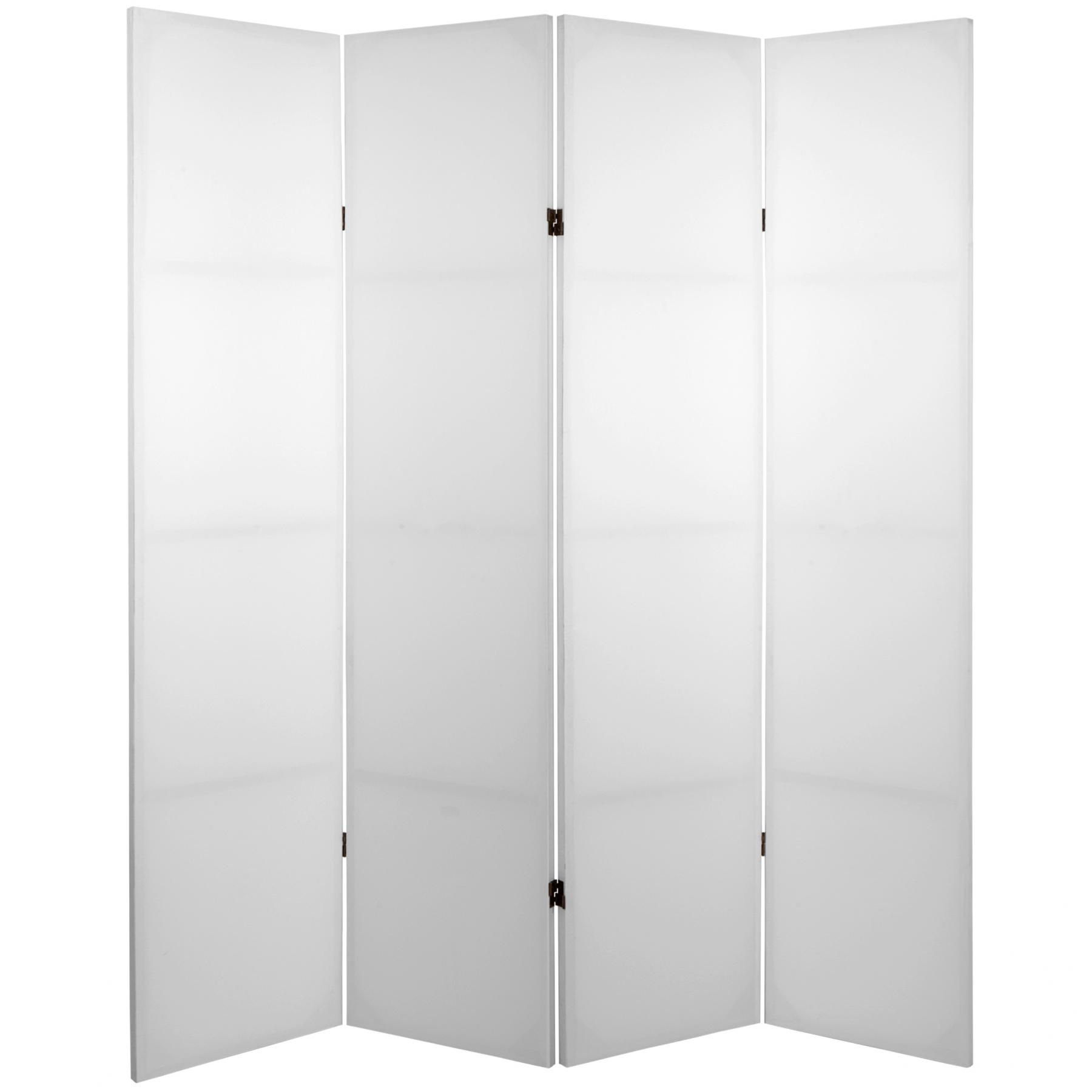 Room Divider Paravent 4 Panel Blank