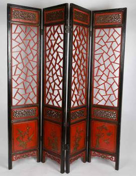 Antique Chinese Screens Fine Room Dividers