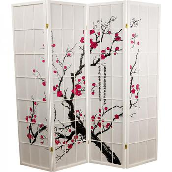 Fine Room Dividers Homepage - Cherry blossom room divider screen