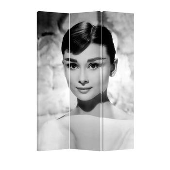 Audrey Hepburn Room Divider 3 Panel